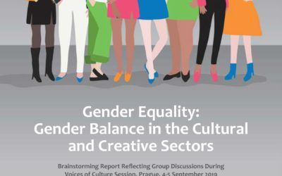 """""""Gender Equality: Gender Balance in the cultural and creative sectors"""""""