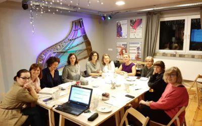 Pierwsza grupa artystek ireprezentantek sektora kreatywnego wzięła udział wArtist Circles wPolsce